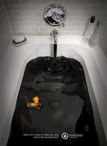 Earth Day: Tar Bath